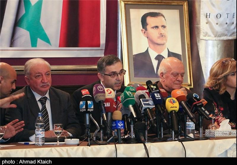 """اجتماع قوى المعارضة الوطنیة السوریة تحت عنوان """"کل الدروب تؤدی إلى دمشق""""+ صور"""