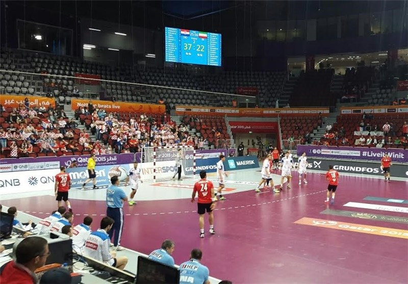 Iran Earns First Victory in World Handball Championship