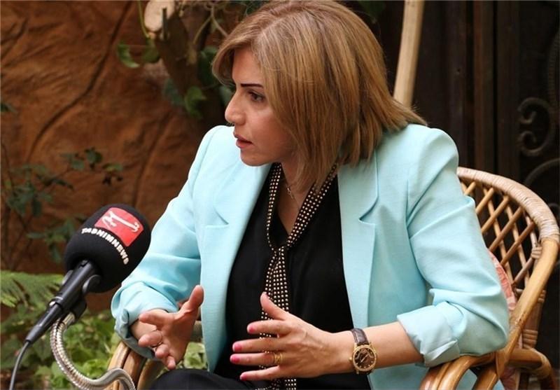 بروین إبراهیم: جمیع السوریین متفقین على التمسک بالوحدة الوطنیة لسوریا