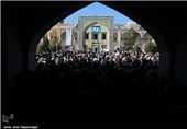 اجتماع عظیم حوزویان قم در حمایت از بیانیه «گام دوم انقلاب» برگزار شد