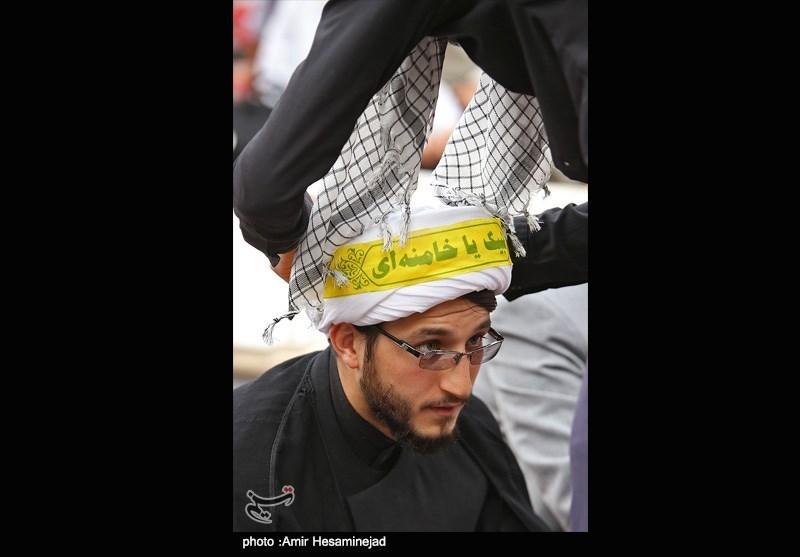 Seminary Students in Qom Protest Desecration of Prophet Muhammad
