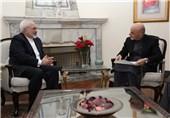 دیدار ظریف با رئیس جمهور افغانستان/ ابراز همدردی اشرف غنی با ایران