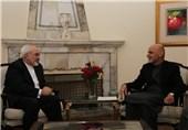 اشرف غنی و ظریف درباره مسائل دوجانبه گفتوگو کردند