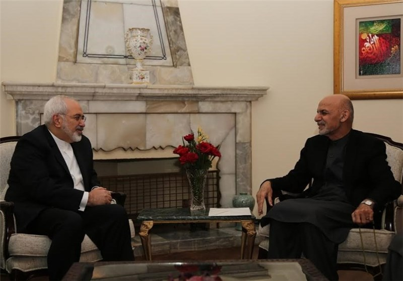 Iran FM Meets with Afghan President, Chief Executive Officer