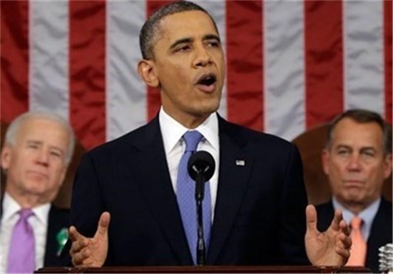 اوباما یواصل اطلاق تهدیداته ضد ایران الاسلامیة بوجود کل الخیارات علی الطاولة