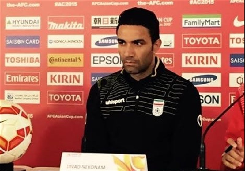 Records Are for History, Iran Captain Nekounam Says
