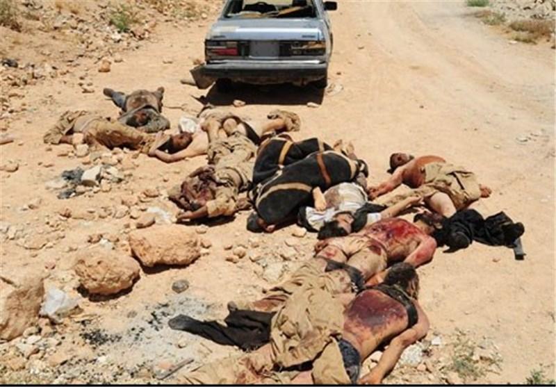 مقتل 20 إرهابیاً فی انفجار آلیة خلال تفخیخها فی ریف حلب شمال سوریا
