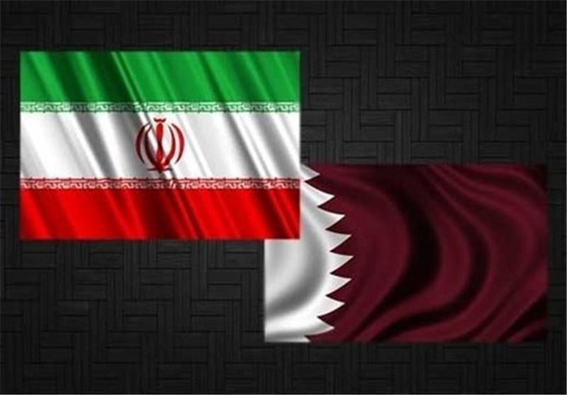 علم ایران و قطر