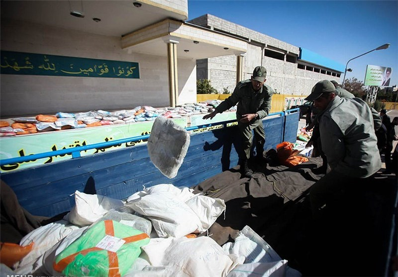 Police in Central Iran Seize 7 Tons of Drugs in 20 Days