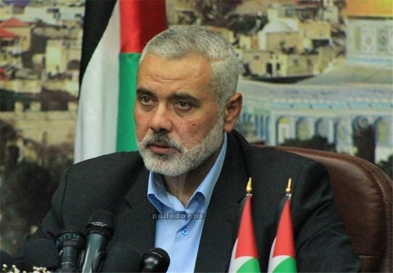 اسماعیل هنیة للسید نصرالله: ید المقاومة فی لبنان ستبقى هی العلیا رغم الألم