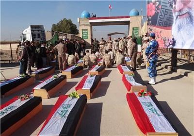 خوزستان|پیکر 115 شهید گلگون کفن از مرز شلمچه به کشور باز می گردد