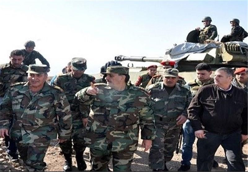 وزیر الدفاع السوری: قواتنا المسلحة الیوم أکثر قدرة وتصمیما على محاربة الإرهابیین+صور
