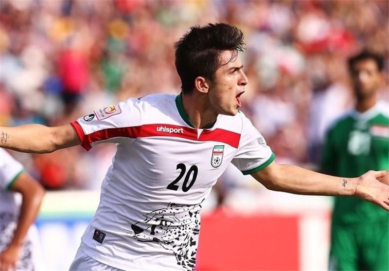 Sardar Azmoun Voted Iran's Young Player of Year