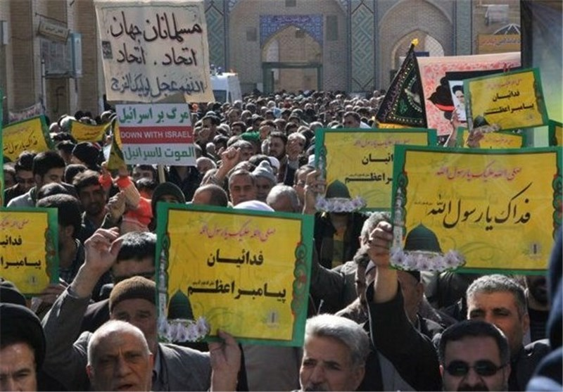 Rallies Held in Iran to Show Love for Prophet Muhammad