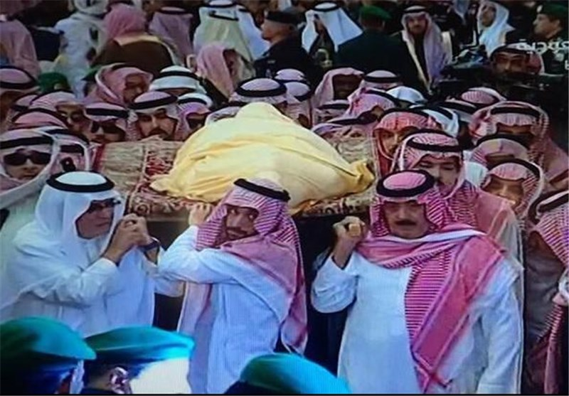 تشییع ملک عبدالله