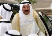 امیر کویت در مراسم تشییع پادشاه عربستان