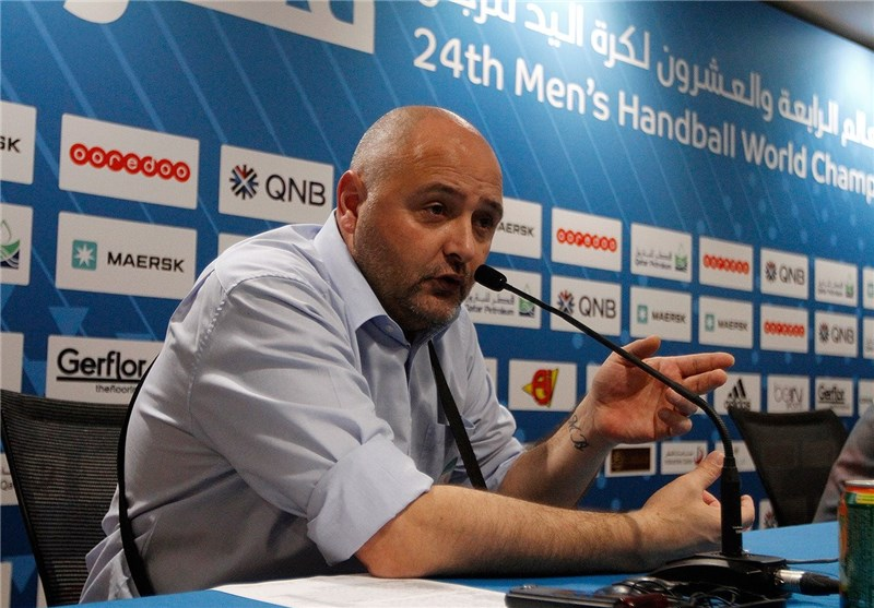 Coach Satisfied with Iran's Performance in Handball Worlds