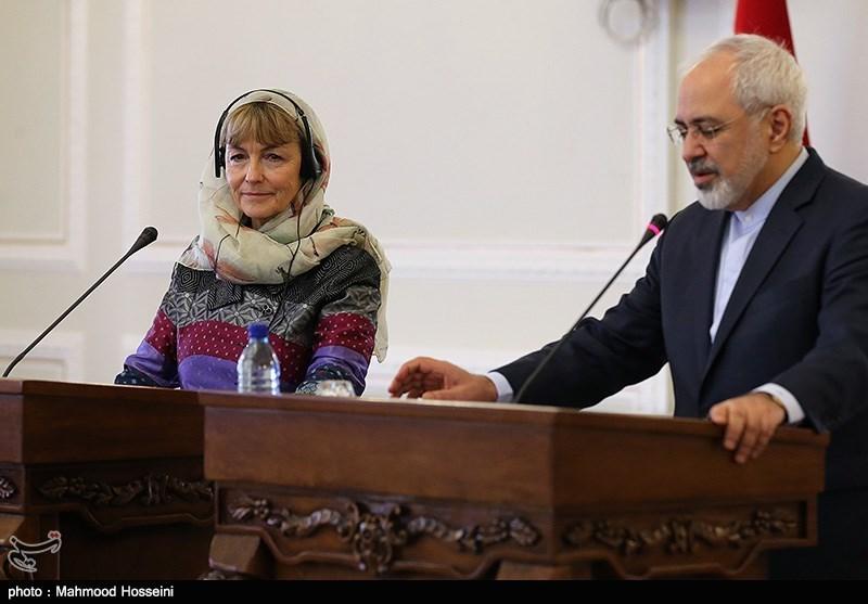 Iranian, Croatian FMs Meet in Tehran