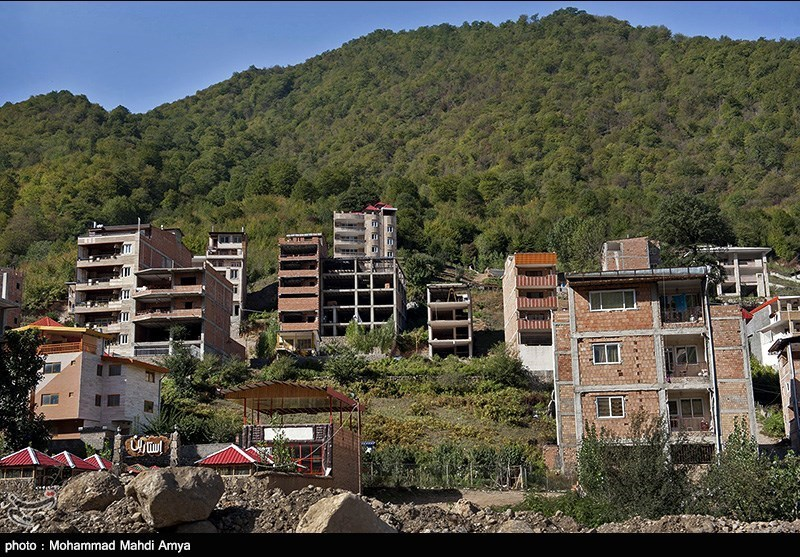 Wood in northern Iran ruined by unbridled construction - IN PHOTOS