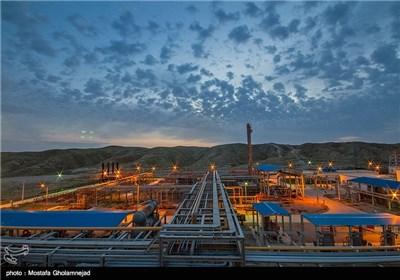 Masjed Soleiman Oil Field in Iran's Southwestern Province of Khuzestan