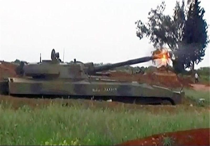 هلاک عدد من الإرهابیین کانوا یستعدون لاستهداف العاصمة السوریة بالصواریخ+صور