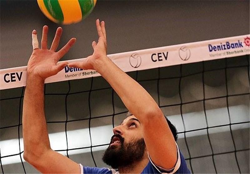 FIVB Praises Iranian Setter Saeid Marouf