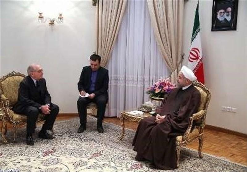 روحانی : برنامجنا النووی سلمی الأهداف وممارسة الضغوط وفرض الحظر سلاح ذو حدین