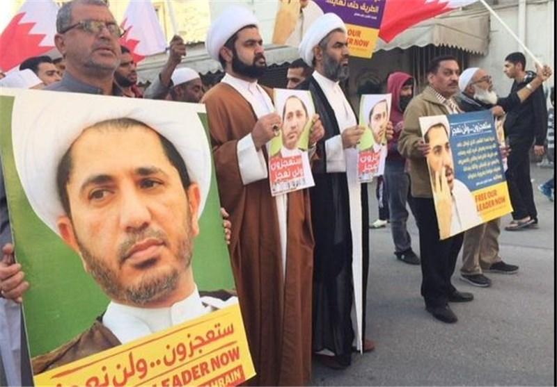 الشعب البحرینی یلبی دعوة العلماء بالخروج فی مسیرات حاشدة عشیة محاکمة الشیخ علی سلمان