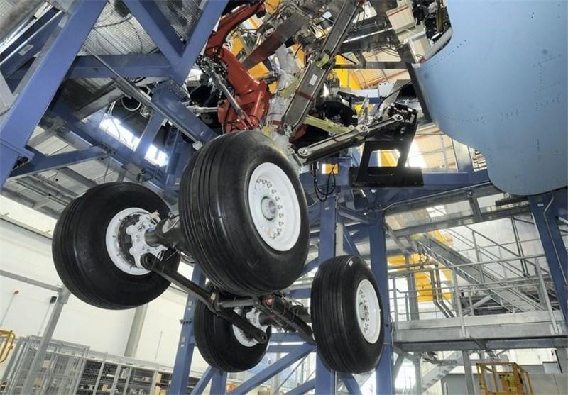 Iran Makes Warplane Landing Gear Test Apparatus