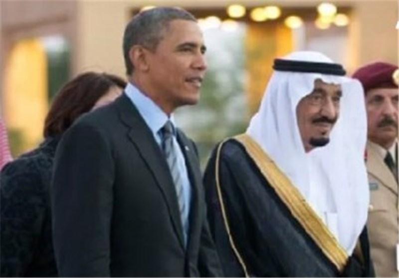 """مصادر سعودیة مطلعة :""""متعب"""" یسعى للقاء اوباما سرا لتذکیره بوعوده التی قطعها قبل وفاة والده"""