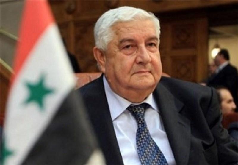 المعلم: اجتماعات موسکو تهدف إلى إیجاد توافق على الحوار السوری- السوری
