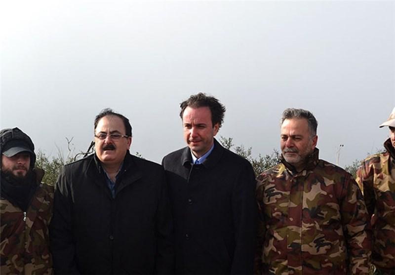 أنقرة ساعدت رئیس الإئتلاف السوری المعارض التسلل إلى ریف اللاذقیة الشمالی
