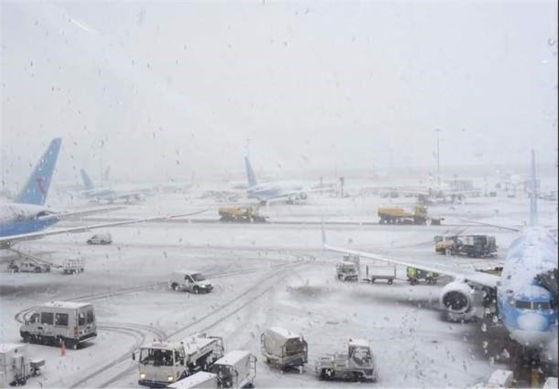 'Thundersnow' Storms As Icy Blast Hits UK