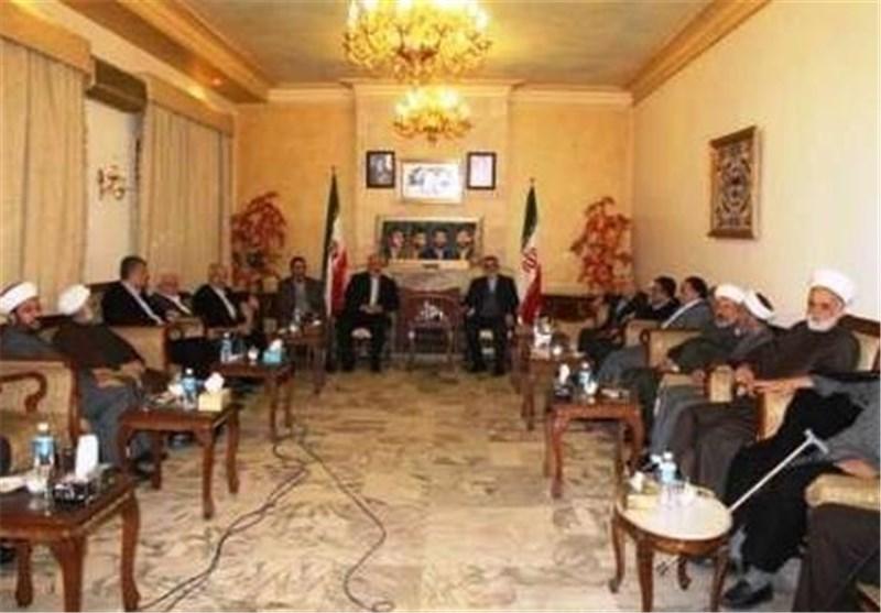 بروجردی یلتقی قادة وممثلی الفصائل الفلسطینیة فی لبنان