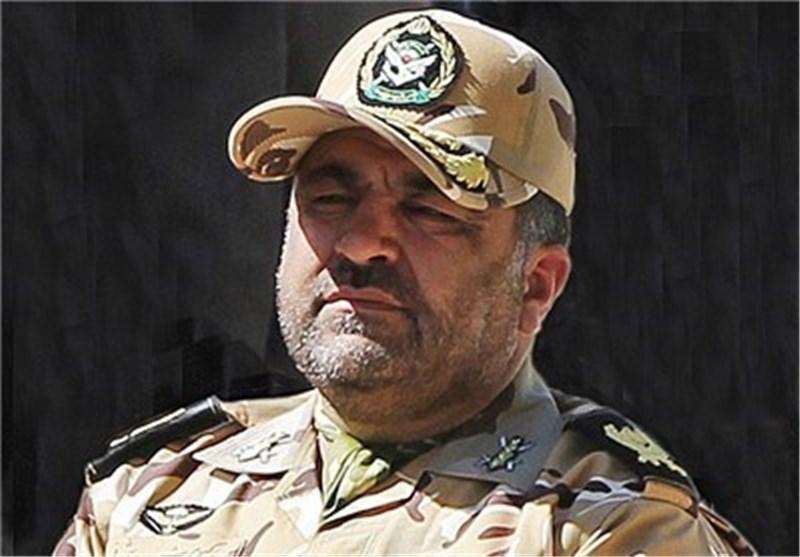 قائد فرقة مشاة کردستان: مضادات جیش ایران الاسلامیة سترد علی أی تهدید بکل قوة وحزم