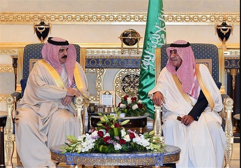 پادشاه بحرین مجددا به عربستان رفت
