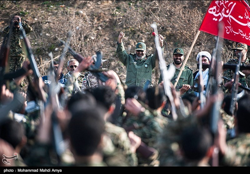 Basij Forces Hold Drills in Northern Iran