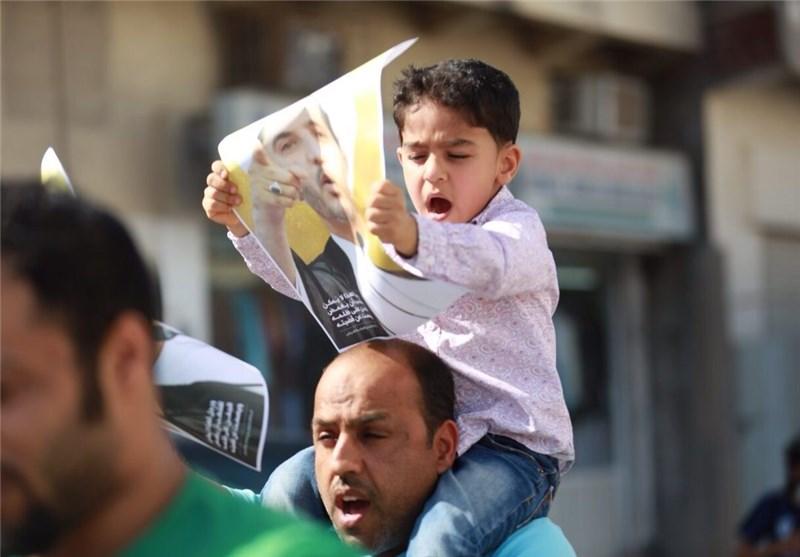 الحشود الغاضبة تجوب شوارع البحرین وقوات النظام الخلیفی تواصل ممارساتها القمعیة + صور