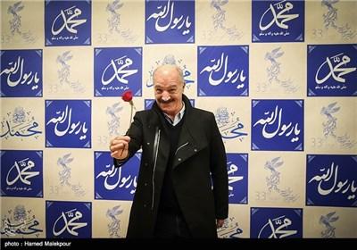 سعید راد در مراسم افتتاحیه سی و سومین جشنواره بینالمللی فیلم فجر