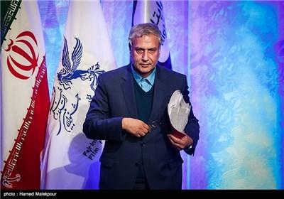 علی ربیعی وزیر تعاون، کار و رفاه اجتماعی در مراسم افتتاحیه سی و سومین جشنواره بینالمللی فیلم فجر