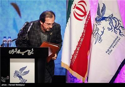 علیرضا رضاداد دبیر سی و سومین جشنواره بینالمللی فیلم فجر در مراسم افتتاحیه