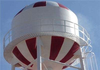 مخزن منبع آب پروژه آبرسانی