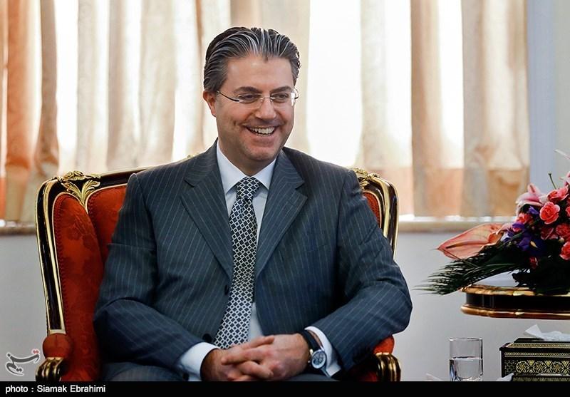 رضا خاقان تکین سفیر ترکیه در ایران