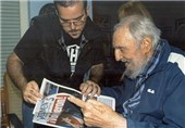 Cuba's Fidel Castro Appears in First Photographs since August