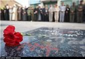 گلباران مزار شهدای انقلاب اسلامی - شیراز ،بیرجند