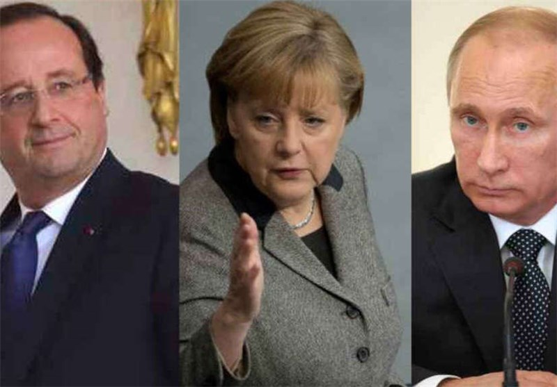 Merkel, Hollande Back Extending Sanctions on Russia over Ukraine
