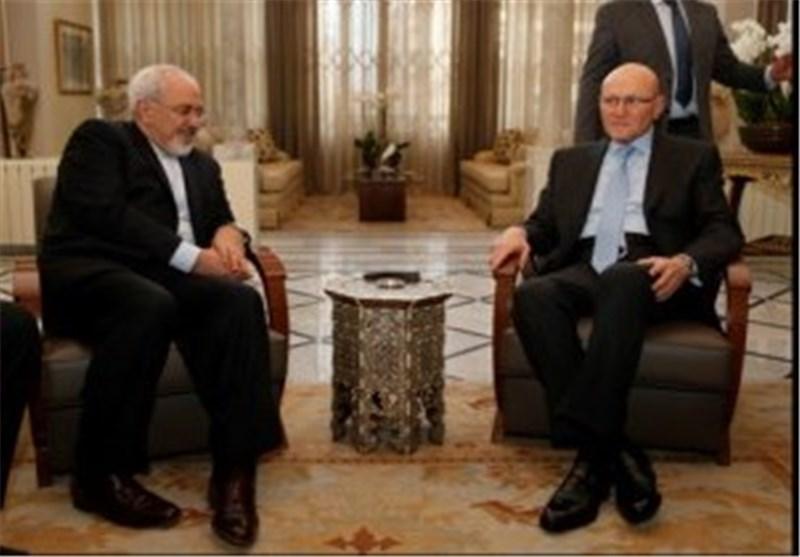 ظریف: مصلحة ایران تقضی بحفظ الاستقرار فی لبنان