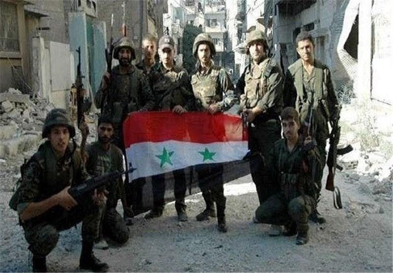 """الجیش السوری بالتعاون مع """"جیش الوفاء"""" ینفذ عملیة نوعیة فی مدینة دوما بریف دمشق"""