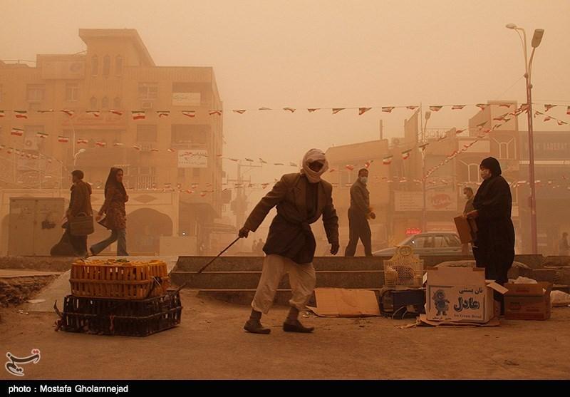 گرد و غبار در خوزستان