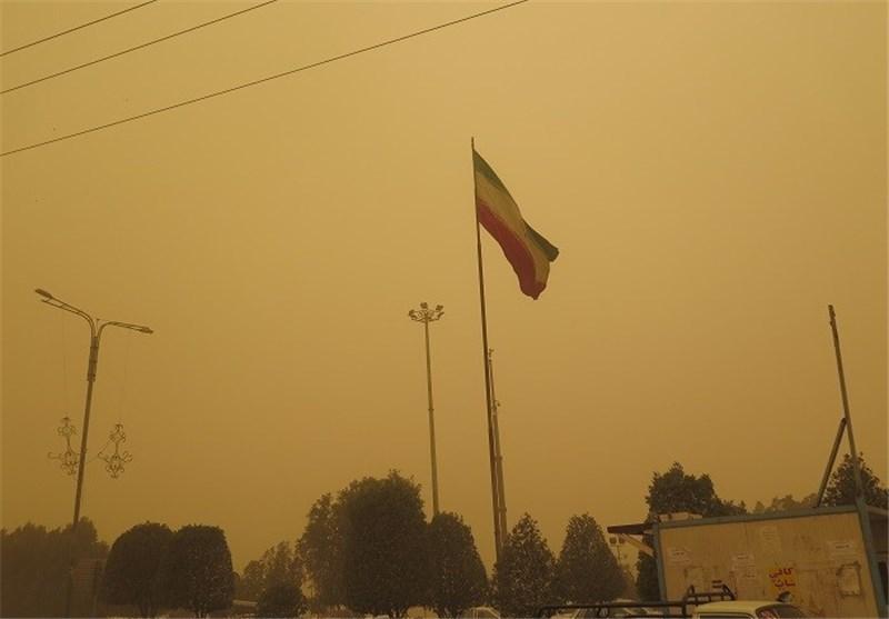 وضعیت آلودگی هوای خراسان شمالی در مرز هشدار